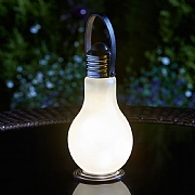 Eureka Frosted Battery Operated Light Bulb