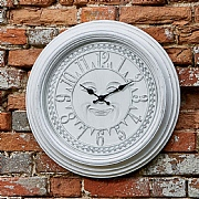 Outside In Woodstock Wall Clock