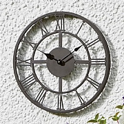 Outside In Arundel Wall Clock