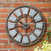 Outside In Lincoln Wall Clock