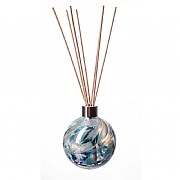 Amelia Art Glass Turquoise & White Sphere Reed Diffuser