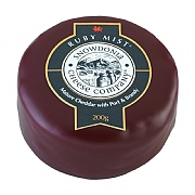 Ruby Mist Mature Cheddar with Port & Brandy Truckle 200g
