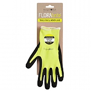 Burgon & Ball Florabrite Yellow Garden Gloves M/L