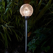 Smart Solar Retro Stainless Steel Stake Light