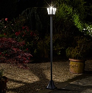 Smart Solar Whitehall 1.8m Solar Lamp Post