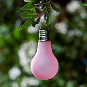 Smart Solar Eureka! Neo Pink Lightbulb