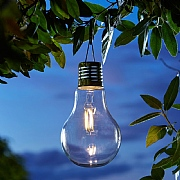 Smart Solar Eureka! Retro Lightbulb
