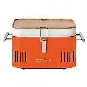 Everdure by Heston Blumenthal CUBE Portable Charcoal BBQ Orange