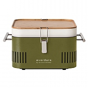 Everdure by Heston Blumenthal CUBE Portable Charcoal BBQ Khaki