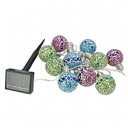 Cole & Bright 10 Dual Power Mosaic String Lights