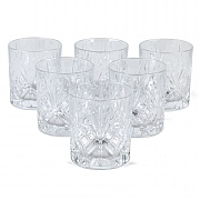 RCR Crystal Melodia Whisky Tumblers Set of 6