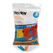 Beldray 100 Ultra Grip Clothes Pegs