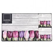 Inspire Tulips Placemat & Coaster Set