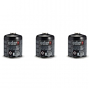 Weber Disposable Gas Canister Pack of 3