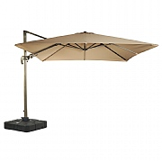 Bramblecrest Chichester 3m Square Parasol with Sand Fill Base