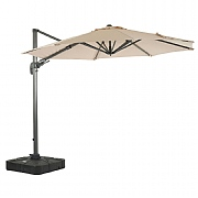 Bramblecrest Chichester 3m Round Parasol with Sand Fill Base