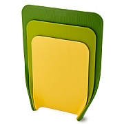 Joseph Joseph Nest Chop Set of 3 Chopping Boards Green