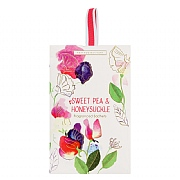 Heathcote & Ivory Sweet Pea & Honeysuckle Fragranced Sachet