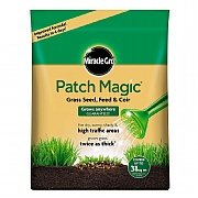 Miracle Gro Patch Magic Grass Seed, Feed & Coir 7kg