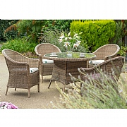 Kettler RHS Harlow Carr 4 Seater Round Dining Set