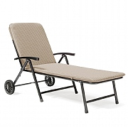 Kettler Novero Sunlounger with Truffle Cushion