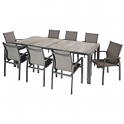 Hartman Georgia 8 Seater Rectangular Set