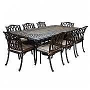 Hartman Florence 8 Seater Rectangular Set