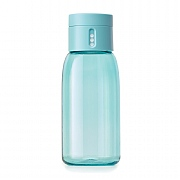 Joseph Joseph Dot Hydration-Tracking Water Bottle 400ml - Turquoise