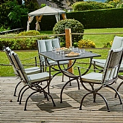 Supremo Bath 6 Seater Rectangular Set