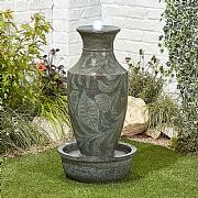 Kelkay Classic Urn Water Feature with LED Lights