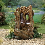 Kelkay Colorado Falls Water Feature with LED Lights