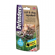 Defenders Cat & Dog Repellent Sachets - 2 x 50g