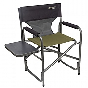 Quest Elite Deluxe Surrey Directors Chair with Side Table Green