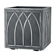 Versailles Square Planter 32cm Pewter