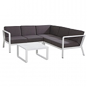 4 Seasons Outdoor Taste Domino Corner Lounge Set