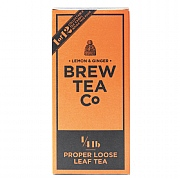 Brew Tea Company Lemon & Ginger Loose Leaf Tea 113g