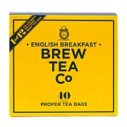 Brew Tea Company English Breakfast 40 Whole Leaf Tea Bags