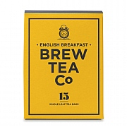 Brew Tea Company English Breakfast 15 Whole Leaf Tea Bags