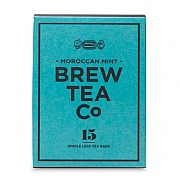 Brew Tea Company Moroccan Mint 15 Whole Leaf Tea Bags