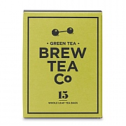 Brew Tea Company Green Tea 15 Whole Leaf Tea Bags