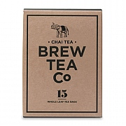 Brew Tea Company Chai 15 Whole Leaf Tea Bags