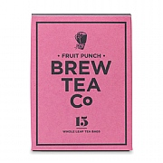 Brew Tea Company Fruit Punch 15 Whole Leaf Tea Bags