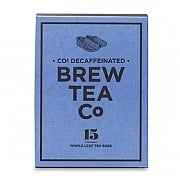 Brew Tea Company CO2 Decaffeinated 15 Whole Leaf Tea Bags