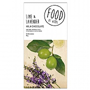 Webbs Lime & Lavender Milk Chocolate 90g