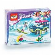 Lego Friends Snow Resort Off Roader