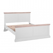 Besp-Oak Rosa Low End Double Bed