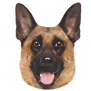 Pet Face German Shepherd Cushion