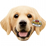 Pet Face Golden Retriever Cushion