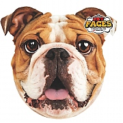 Pet Face English Bulldog Cushion