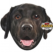 Pet Face Black Labrador Cushion